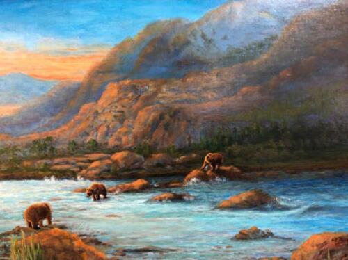 Bear Creek Crossing - Yvonne Daily